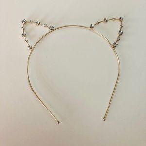 Other - Gold toned Kitty Cat Headband 🐱